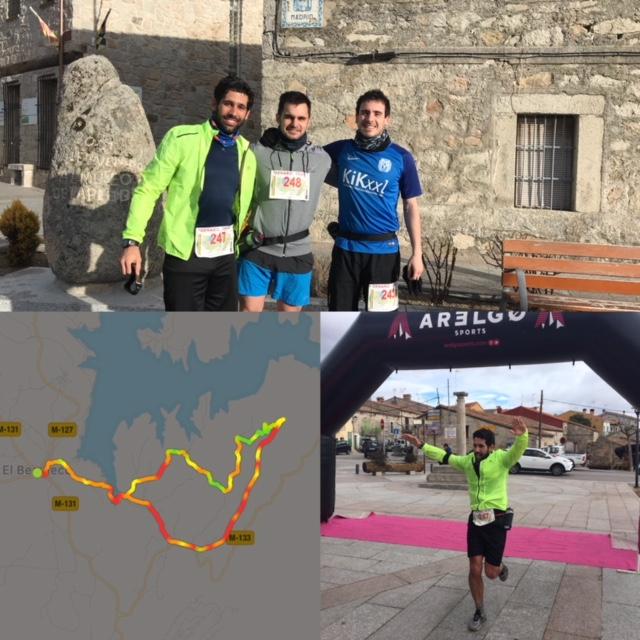 Carrera de trial con Miquel y Jaco 11 de febrero de 2018